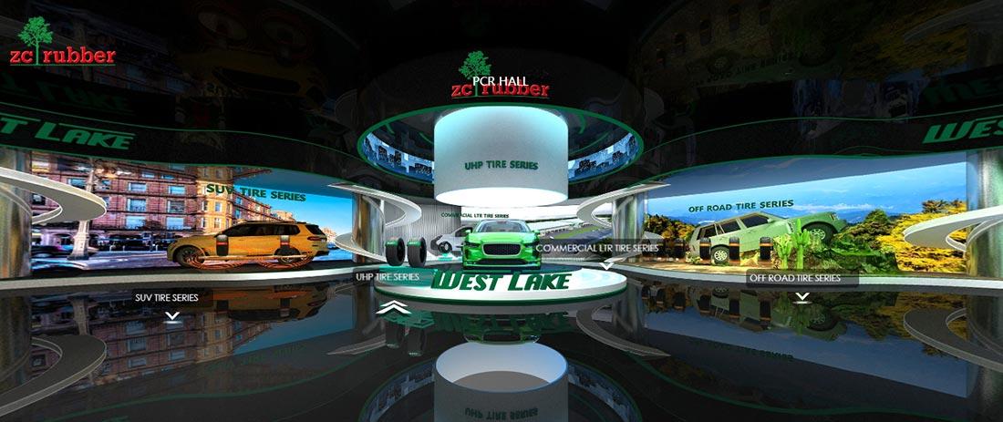 ZC Rubber Launching Online VR Showroom for Westlake, Goodride and Arisun Websites